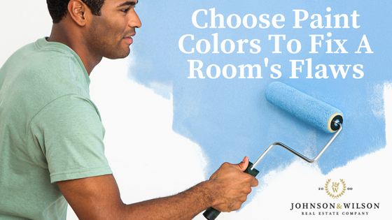 How to tuesday choose paint colors to fix a room s flaws for How to choose paint colors