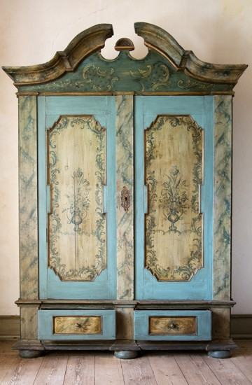 antique-painted-cupboard